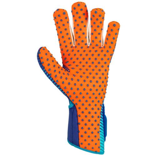 reusch Pure Contact III G3 Speedbump Goalkeeper Gloves – Deep Blue & Shocking Orange