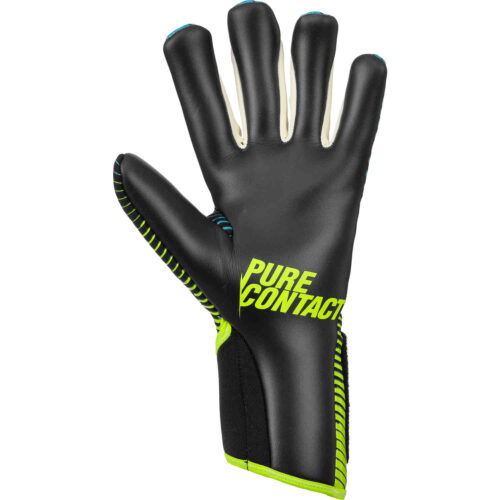 reusch Pure Contact III R3 Goalkeeper Gloves – Black & Safety Yellow
