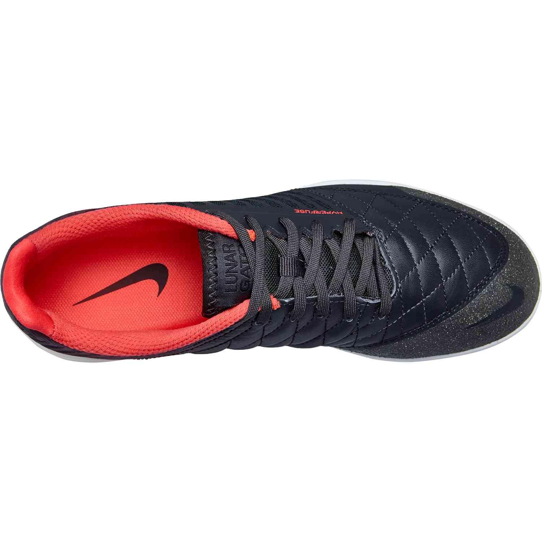 c9bb7d73e48f6c Nike Lunargato II - Anthracite Ember Glow Platinum Tint - SoccerPro
