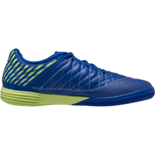 Nike Lunargato II IC – Hyper Blue & White with Barely Volt
