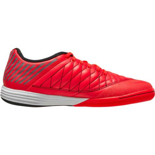 Nike Lunargato II IC – Bright Crimson & Black with White with Photo Blue