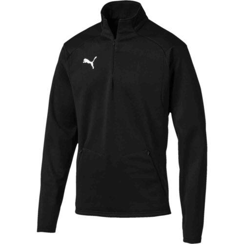 Puma Fleece Training Jacket – Black