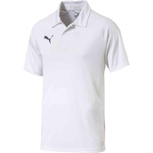 Puma Sideline Polo – White