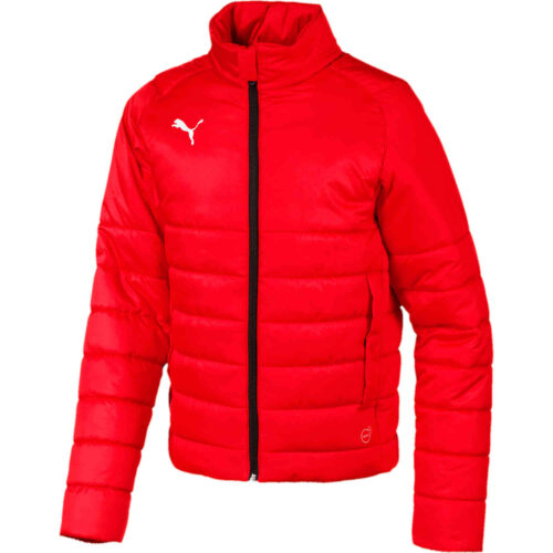 Kids Puma Casuals Padded Jacket – Red