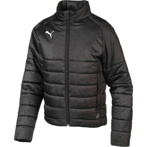 Kids Puma Casuals Padded Jacket – Black