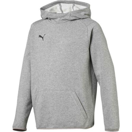 Kids Puma Liga Casuals Hoodie – Medium Gray Heather