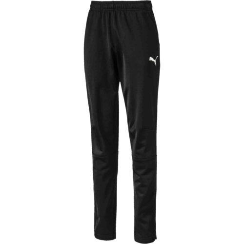 Kids Puma Liga Training Pants – Black