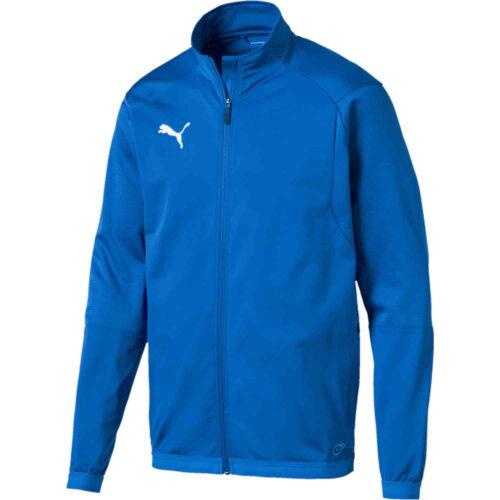 Puma Liga Training Jacket – Electric Blue Lemonade