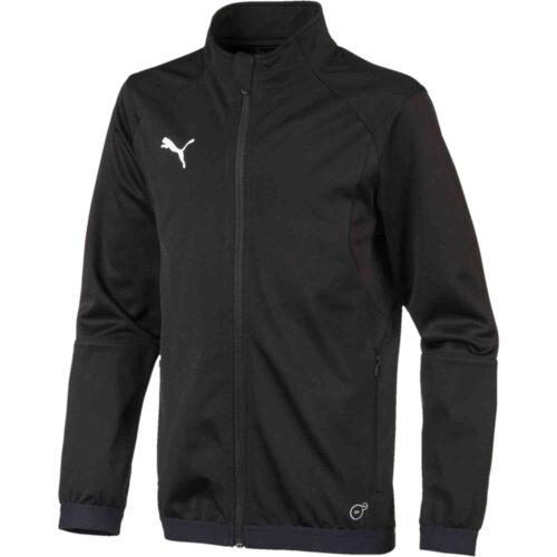 Kids Puma Liga Training Jacket – Black