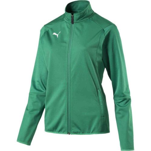 Womens Puma Liga Training Jacket – Pepper Green