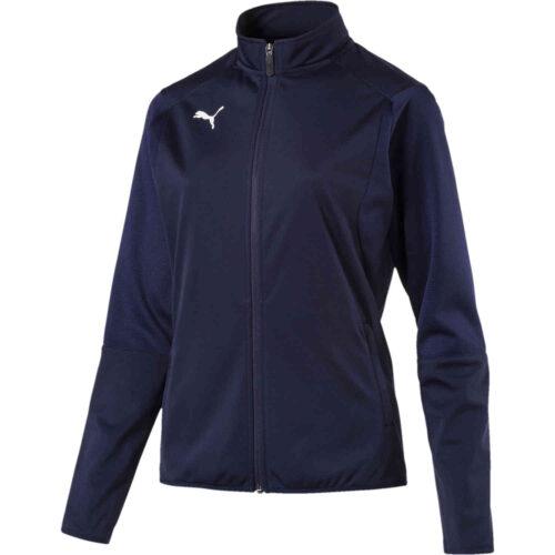 Womens Puma Liga Training Jacket – Peacoat