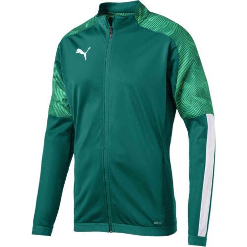 Puma Cup Training Jacket – Alpine Green