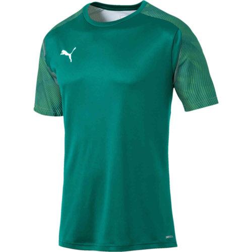 Puma Cup Training Top – Alpine Green