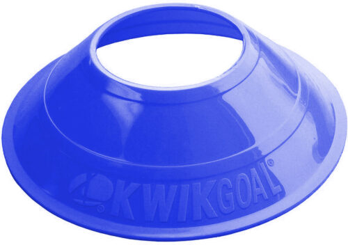 KwikGoal Mini Disc Cones 25 Pack – Blue