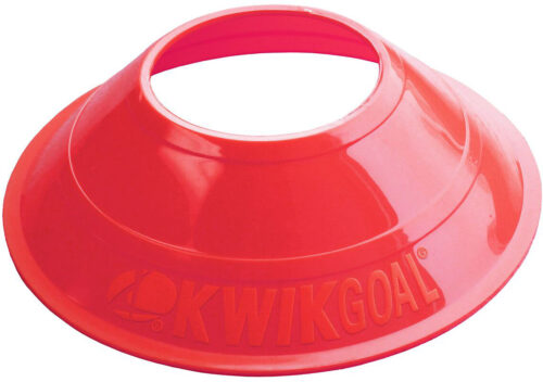 KwikGoal Mini Disc Cones 25 Pack – Red