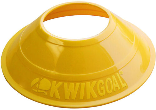 KwikGoal Mini Disc Cones 25 Pack – Yellow