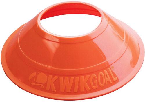 KwikGoal Mini Disc Cones 25 Pack – Orange