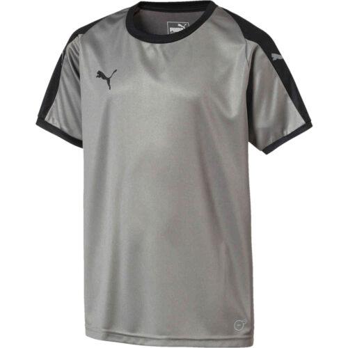 Kids Puma Liga Jersey – Steel Grey