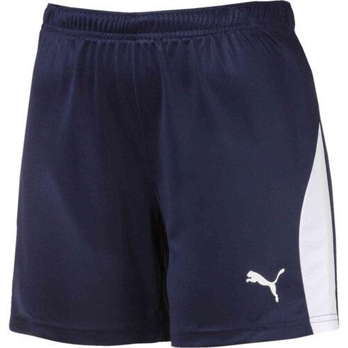 Womens Puma Liga Shorts – Peacoat