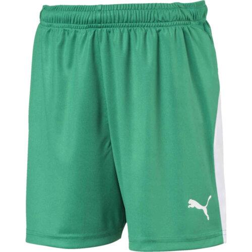 Kids Puma Liga Shorts – Pepper Green