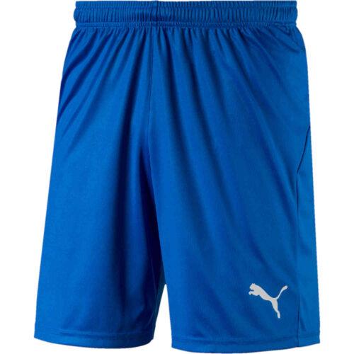 Puma Liga Core Shorts – Electric Blue Lemonade