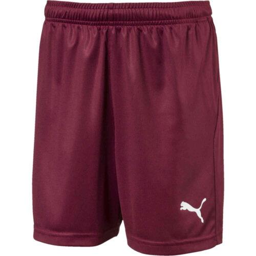 Kids Puma Liga Core Shorts – Cordovan