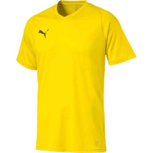 Puma Liga Core Jersey – Cyber Yellow
