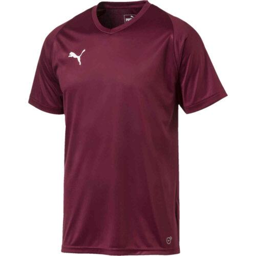 Puma Liga Core Jersey – Cordovan