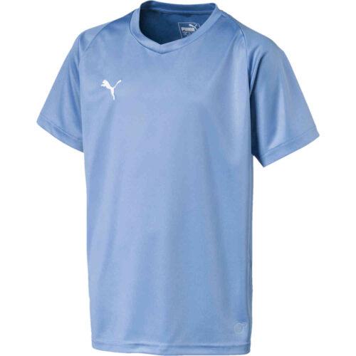 Kids Puma Liga Core Jersey – Silver Lake Blue