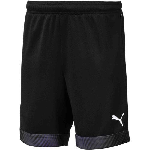 Kids Puma Cup Shorts – Black