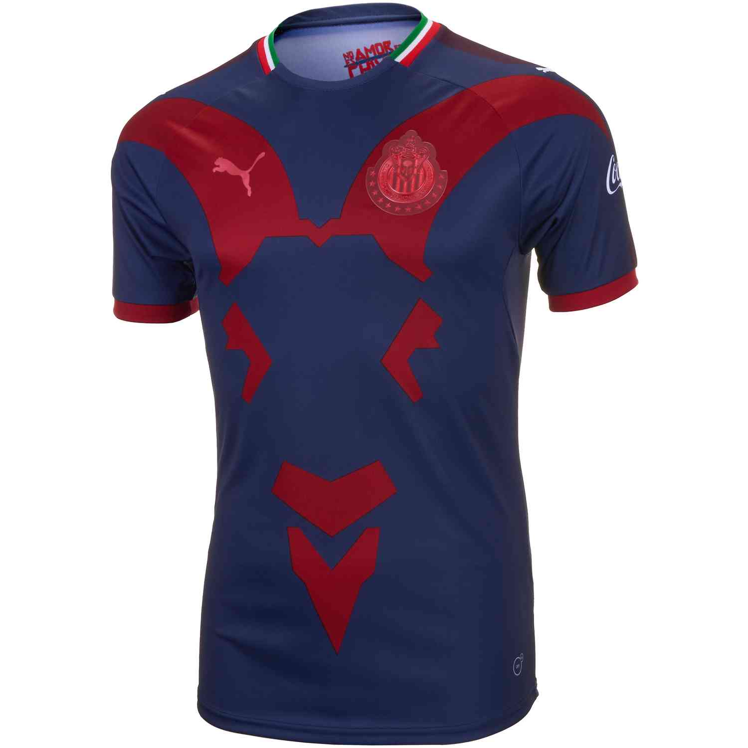quality design 43cde 9edab 2019 Puma Chivas 3rd Jersey – Peacoat/Chili Pepper