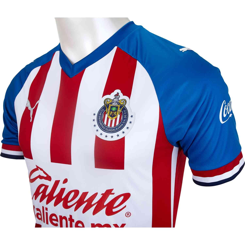 new style 92048 2e03f PUMA Chivas Home Authentic Jersey - 2019/20 - SoccerPro