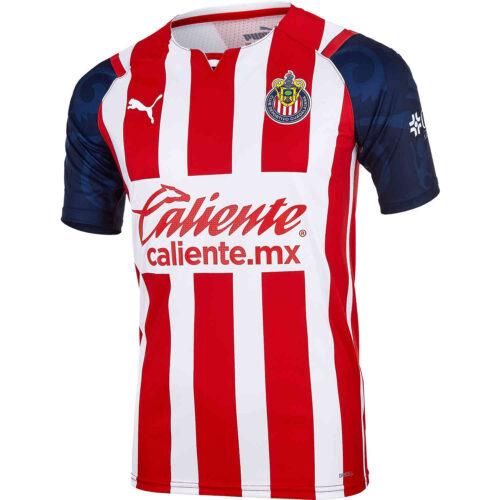 2021/22 PUMA Chivas Home Authentic Jersey