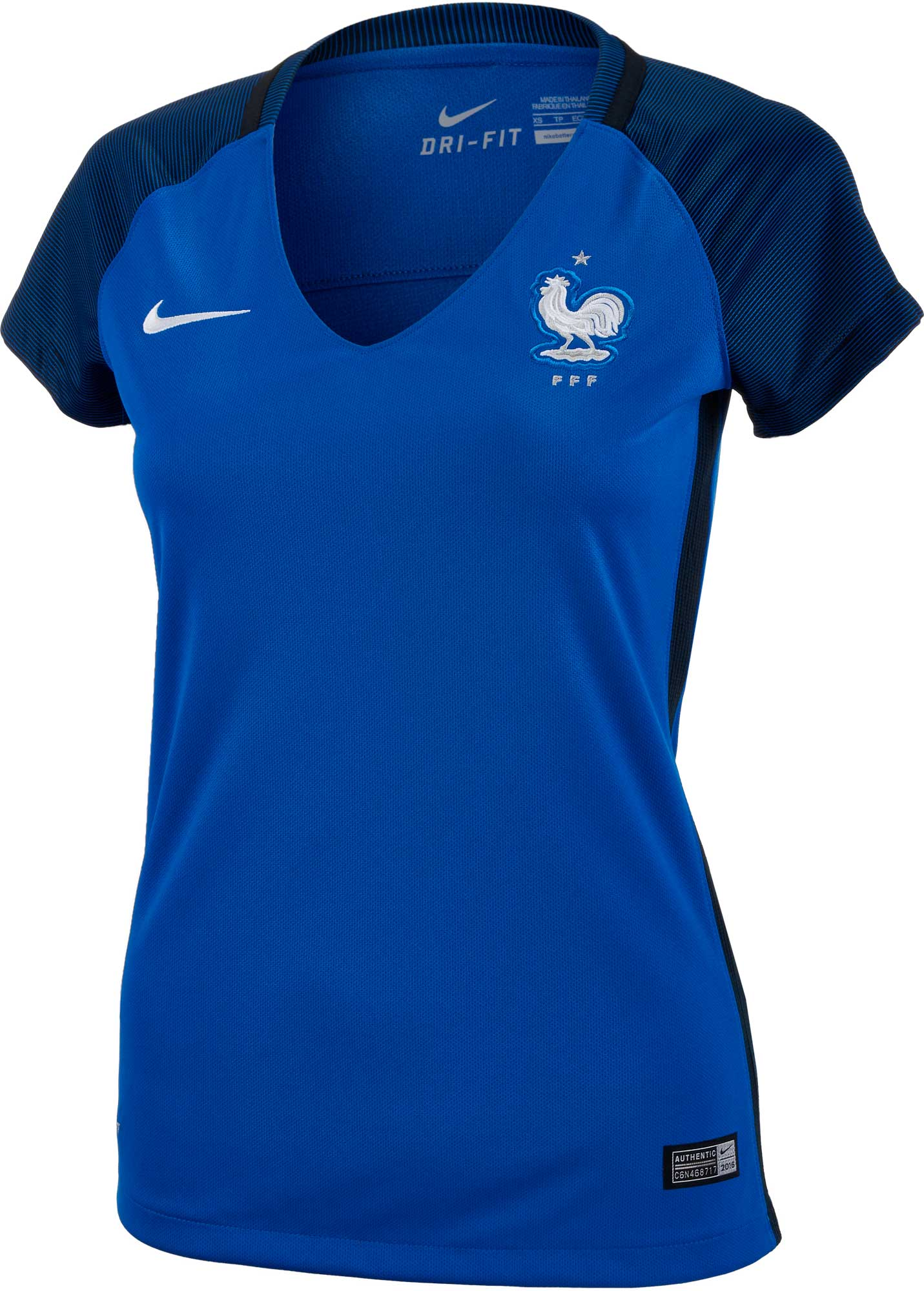 c03663833 Nike Womens France Home Jersey - 2016 France Soccer Jerseys