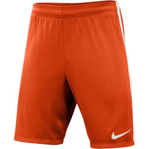 Nike League Knit Shorts – Orange