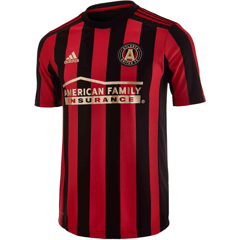 the latest 94f81 2b358 2019 Kids adidas Atlanta United Home Jersey - SoccerPro