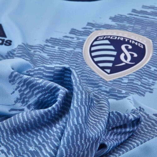 2019 Kids adidas Sporting KC Home Jersey