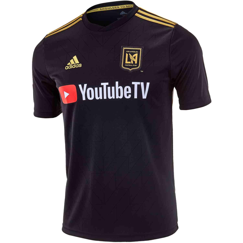 f7f9bcd0dac54 2018/19 Kids adidas LAFC Home Jersey - SoccerPro