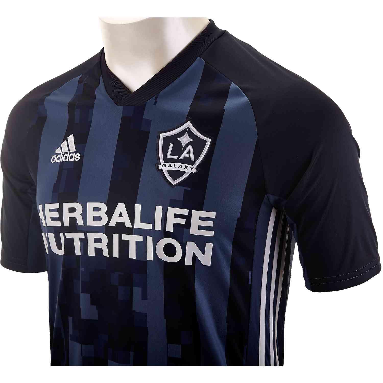new product 0ff66 6685f Kids adidas LA Galaxy Away Jersey - 2019 - SoccerPro