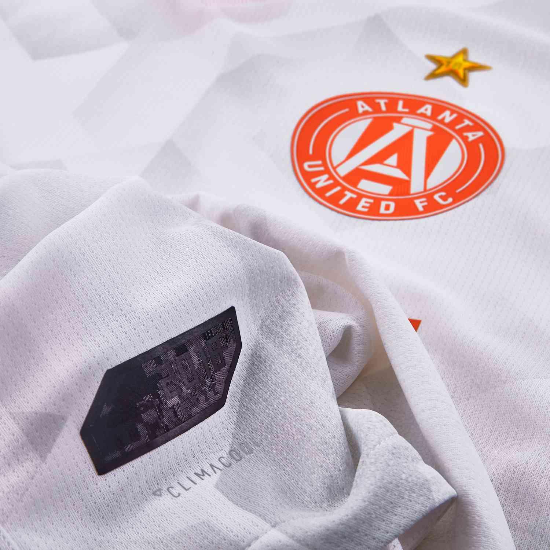 premium selection 7422e 299f6 New Mens Adidas Atlanta United King Peach White Jersey Sz ...