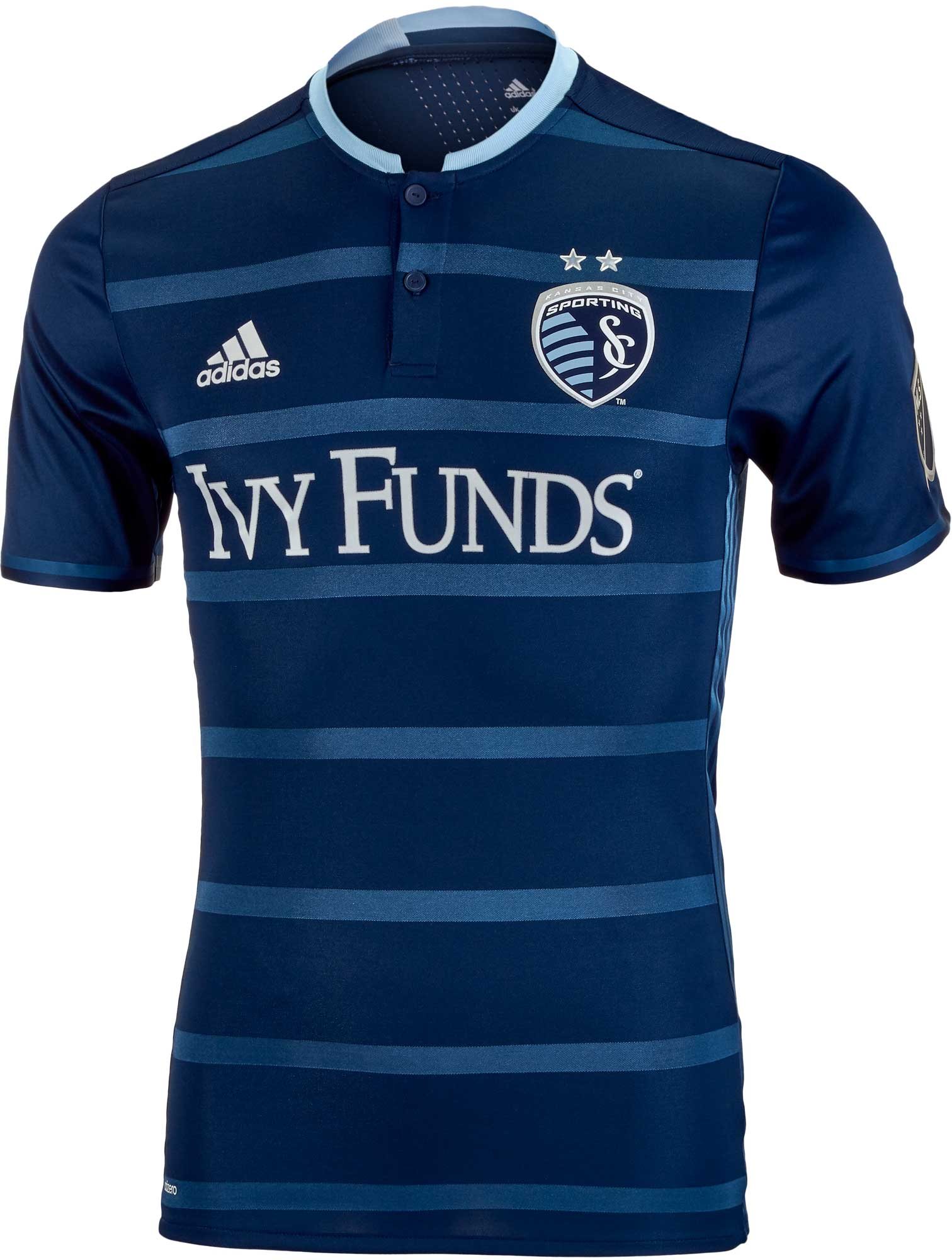 competitive price 8cb49 35cd4 adidas Sporting KC Authentic Away Jersey 2016