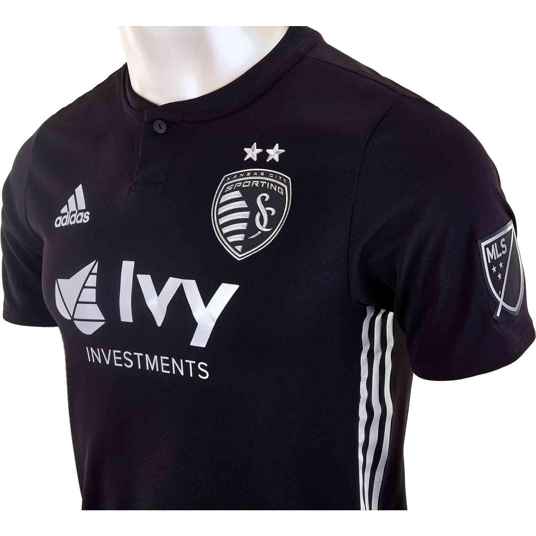 on sale b1a37 9ce70 2018/19 adidas Sporting KC Away Authentic Jersey - SoccerPro