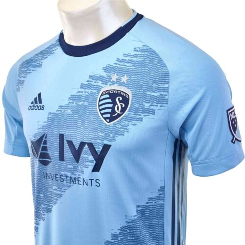 2019 adidas Sporting KC Home Authentic Jersey