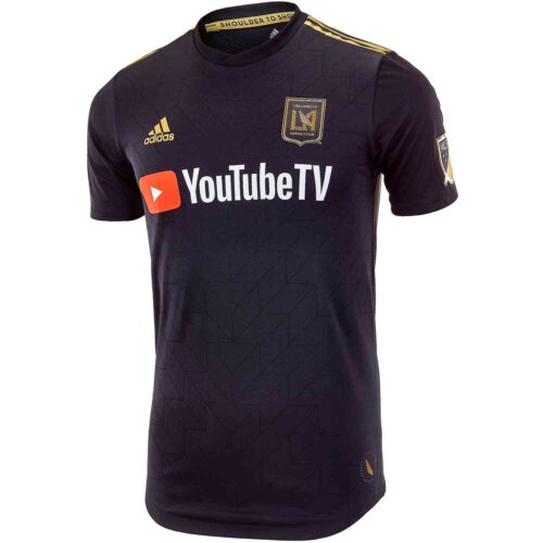 2018/2019 adidas LAFC Home Authentic Jersey