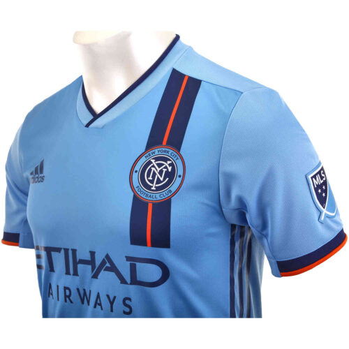 2019 adidas NYCFC Home Authentic Jersey