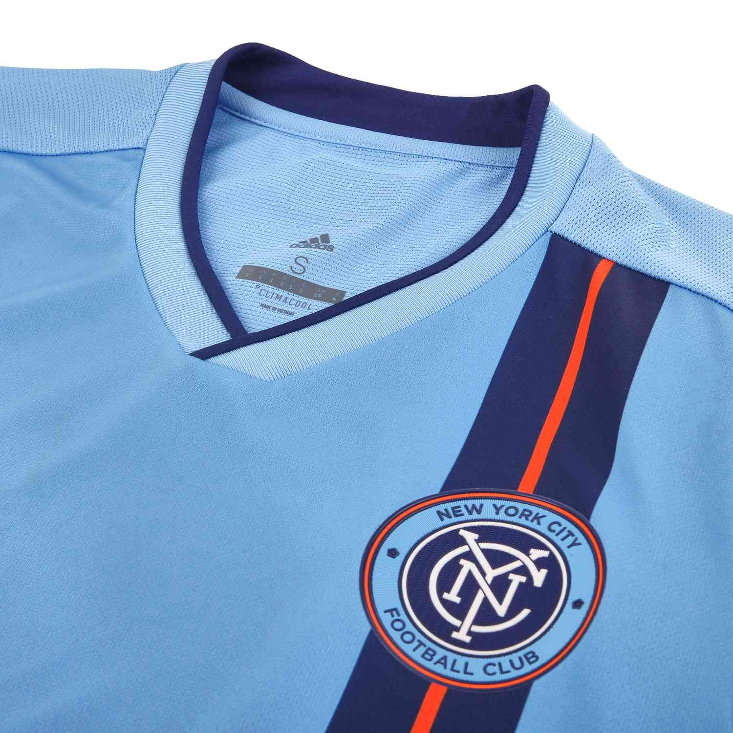 a791b7a2b 2019 adidas NYCFC Home Authentic Jersey - SoccerPro