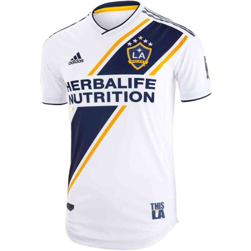 2019 adidas LA Galaxy Home Authentic Jersey