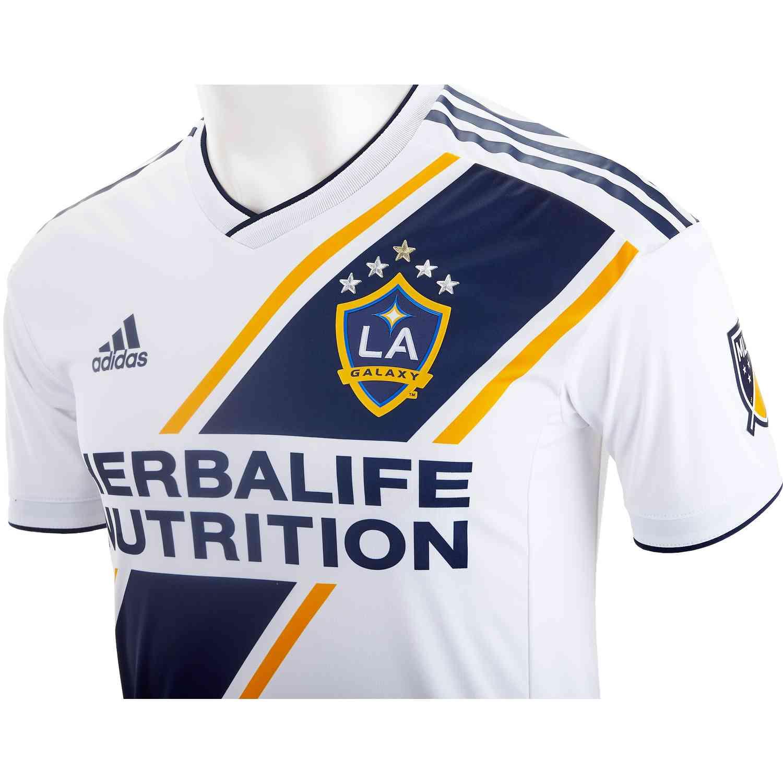 1a97266eb 2019 adidas LA Galaxy Home Authentic Jersey - SoccerPro