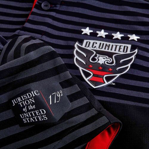 2018/19 adidas DC United Home Authentic Jersey