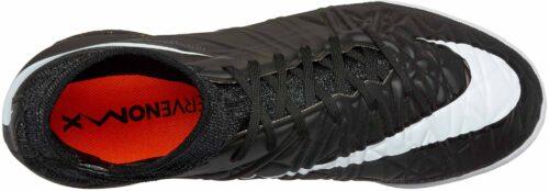 Nike Kids HypervenomX Proximo Street Indoor Shoes – Black/Grey